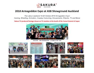 Activity Report Armageddon Auckland 2018