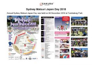 thumbnail of Activity Report Sydney Matsuri Japan Day 2018