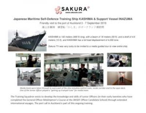 thumbnail of Activity Report Japanese Maritime Self Defence Training ship Kashima visit Auckland (1)