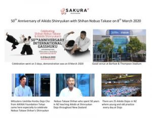 thumbnail of Activity Report 50th Anniversary of Shinryukan Aikido at BT Kohimarama March 2020