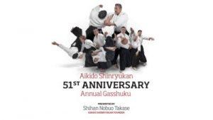 Aikido Shinryukan 51st Anniversary Gasshuku on 11th April at the Avodale College
